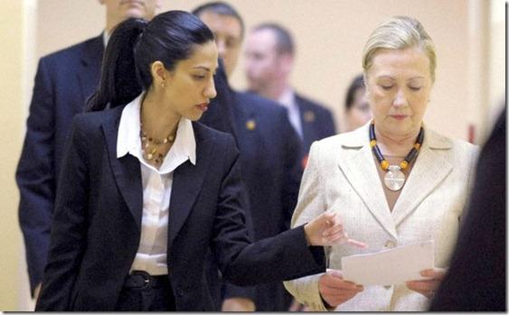 Huma Abedin & Hillary Clinton 2