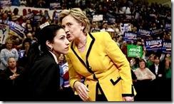 Huma Abedin & Hillary Clinton