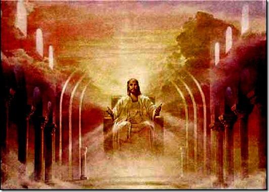 Jesus on Judgment Seat