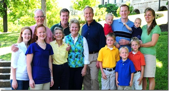Todd Akin Family