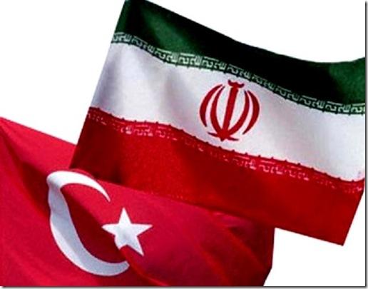 Turkey & Iran Flag