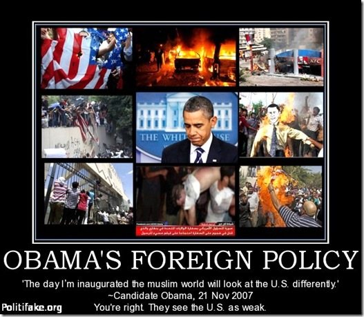 BHO Foreign Policy Failure