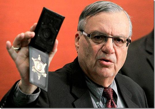 Joe Arpaio - Sheriff