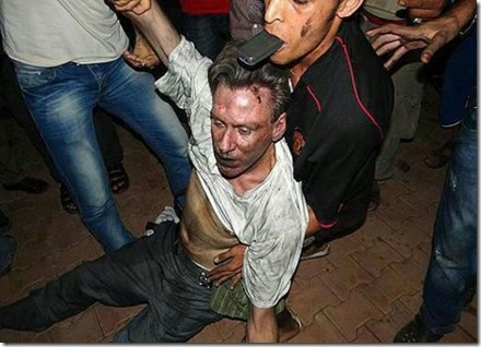 Amb. Chris Stevens Dragged in Benghazi 2