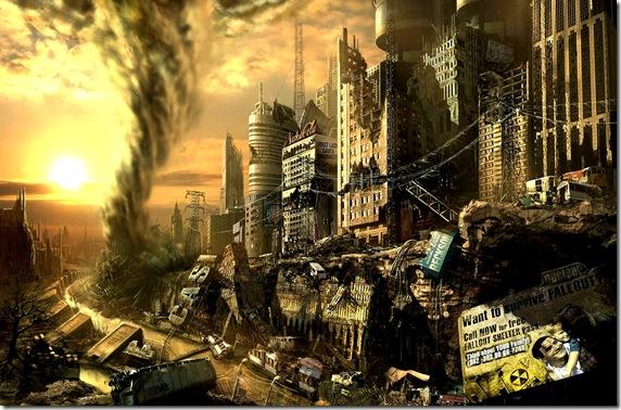 City after Apocalypse