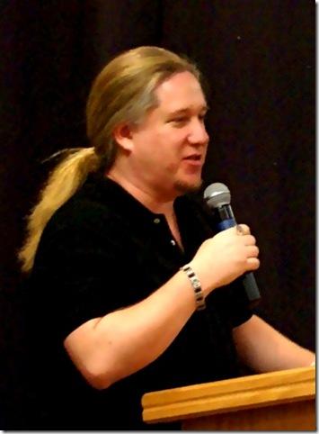Eric Allen Bell speaking at ACT Corona,CA