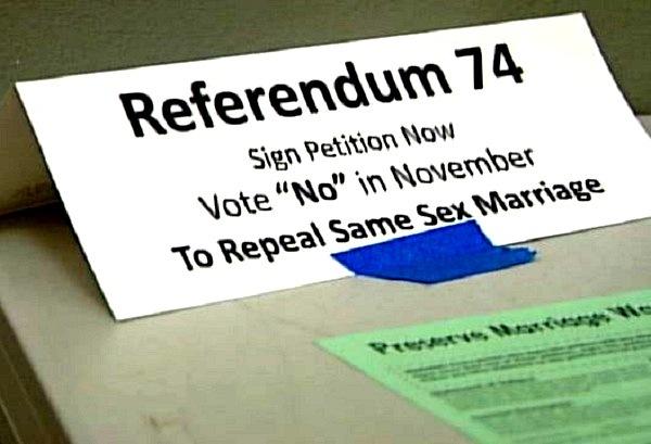 referendum 74 petitions Washington State Referendum 74