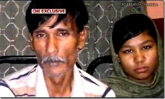 Rimsha Masih & Father 2012