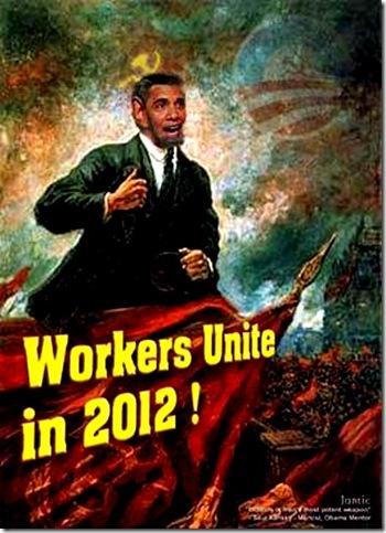 Obama-Lenin - Workers Unite