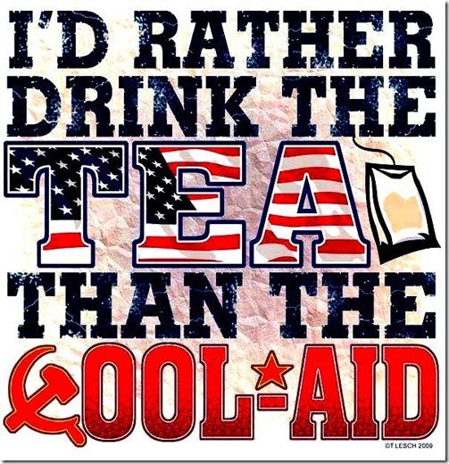 Drink Tea Not Koolaide