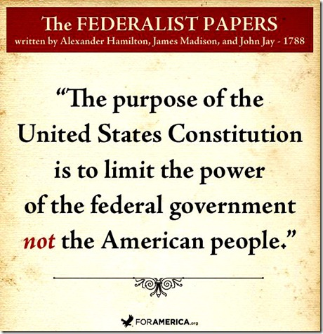 Constitution Purpose - Federalist Papers