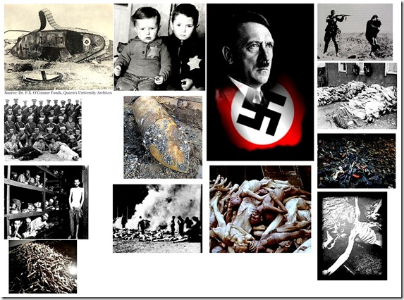 Holocaust Imagery - Jews and Hitler sm