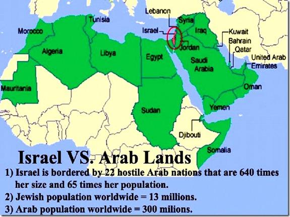 Israel VS Arab Lands