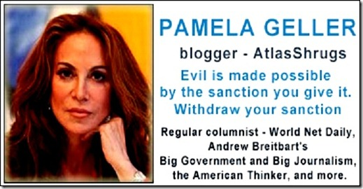 Pamela Geller - counterjihad media lists
