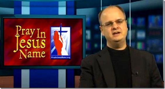 Gordon James Klingenschmitt 3 - Pray in Jesus' Name