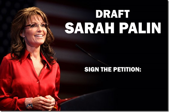 Sarah Palin - Draft for Senate