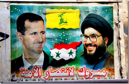 Bashar al-Assad - Hassan Nasrallah