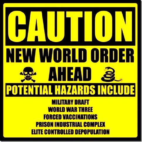 Caution Sign - NWO