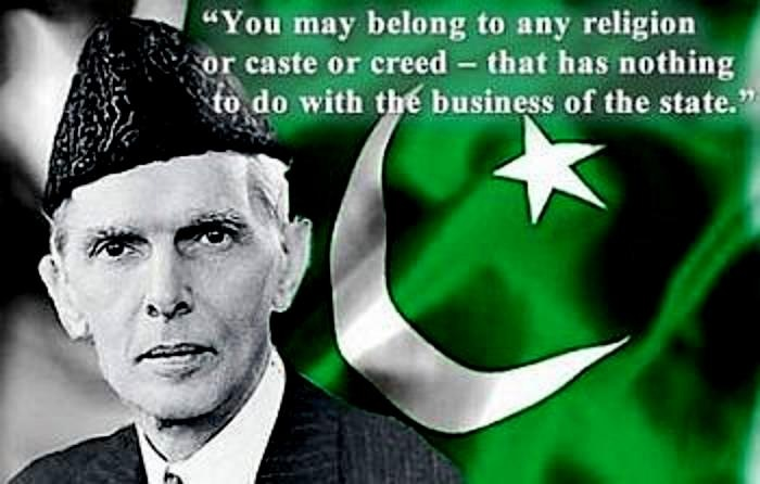 muhammad ali jinnah religeous freedom quote - English Literature Competition August 2013
