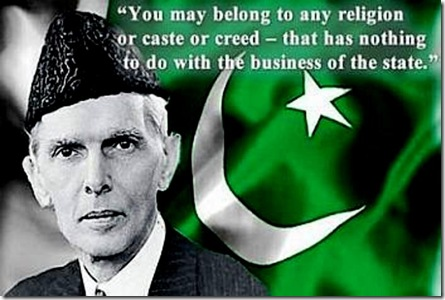 Muhammad Ali Jinnah - religeous freedom quote