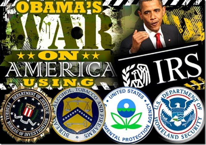 BHO wars on America