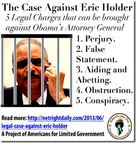 Case Against Holder