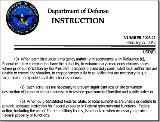 DOD Instruction law