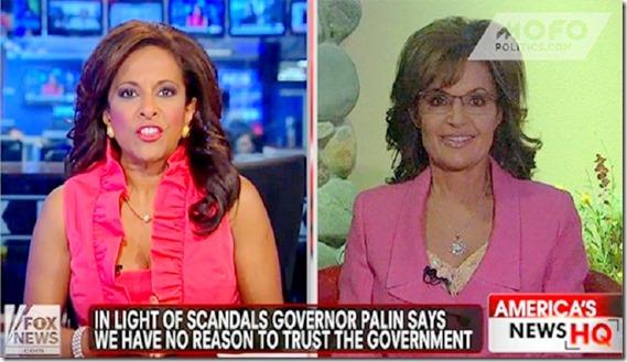 Sarah Palin - Maybe 3rd Party
