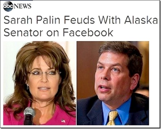 Sarah Palin v Mark Begich