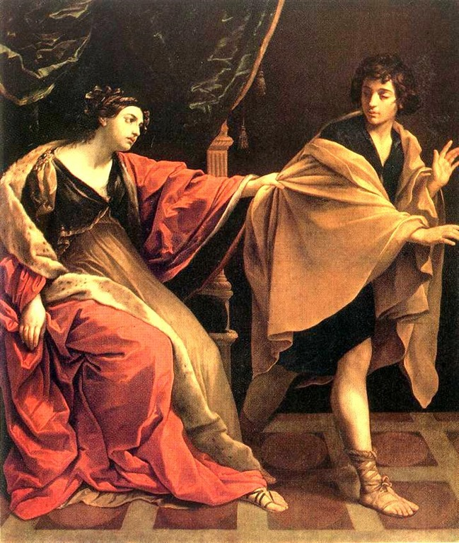 an analysis of the joseph and potiphars wife in the bible A fascinating peek behind the curtain on the biblical narrative of the outrageously  salacious advances made by potiphar's wife as she lustfully attempted to.