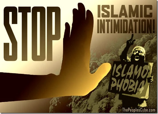 Stop Islamic Intimidation
