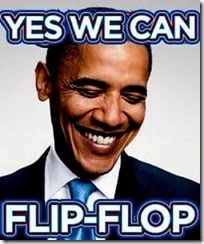 BHO - Yes we can flip-flop
