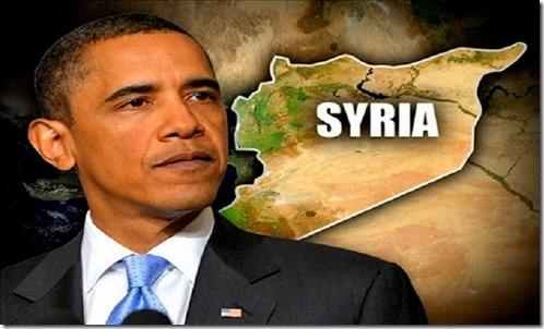 Obama Agenda Syria