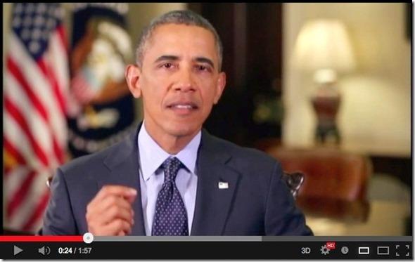 Obama Praising ISNA