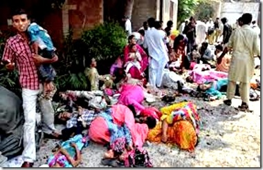 Peshawer blast Christian Victims