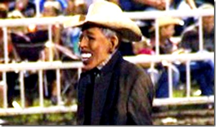Rodeo Clown Wearing BHO Mask