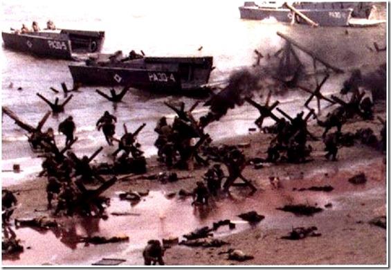 Normandy D-Day Beach