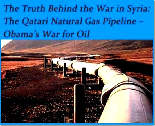 Pipeline - Motive Intl Interest in Syrian War