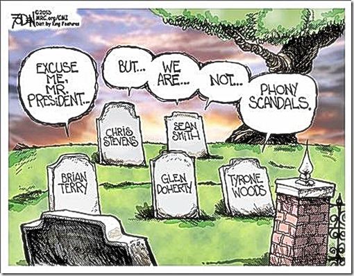 Benghazigate Not a Phony Scandal toon