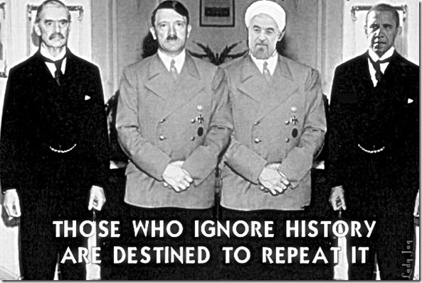 Chamberlain-Hitler & Rouhani-Obama History Repeating