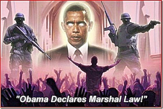 Obama Declares Martial Law