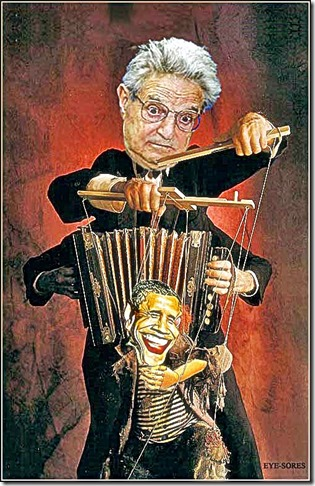 Soros Puppeteer - Obama Puppet