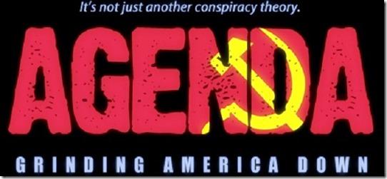Agenda- Grinding Down America banner