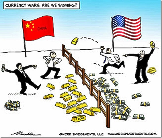 China vs USA Currency War