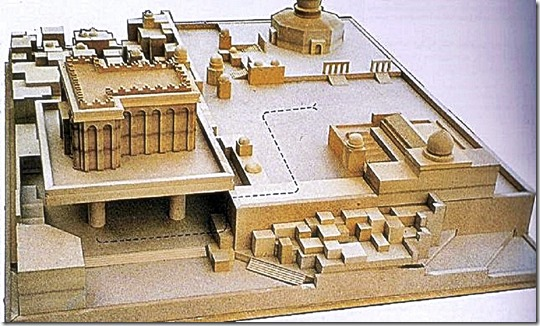 Dr. Amos Orkan's 1991 vision for the Third Temple, which was intended to rise on the Temple Mount plaza. Photo by 'Dreamscapes: Unbuilt Jerusalem'. Fantasies of reviving the Western Wall, the sole remnant of the wall that supported the platform on which stood the ancient Temple, began to flourish with the conquest of East Jerusalem in the Six-Day War. Various proposals for construction in the Wall's plaza piled up on the Jerusalem city engineer's desk during the ensuing six years. http://www.haaretz.com/jewish-world/shavuot-2013/myriad-schemes-for-revamping-the-western-wall-plaza-have-fallen-by-the-wayside-since-1967.premium-1.523981