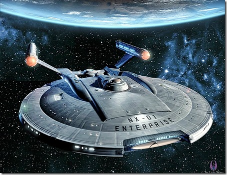 Enterprise - 100 YR Starship Warp Drive 2