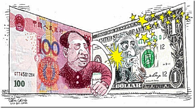 Mao Yuan Beats Up G. Washington Dollar