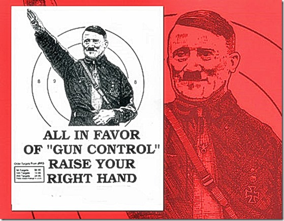 Raise Hands to Gun Control - Sieg Hiel 2