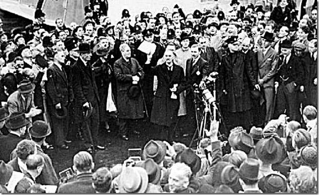 Chamberlain & Munich Agreement 1938