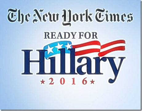 NYT Propaganda Benefitting Hillary